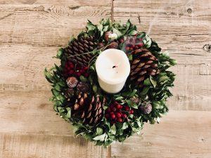Detalles navideños en La Ñ de Armiñan