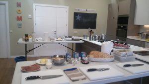Curso de Cocina en Armiñan Lounge impartido por Armiñan Catering